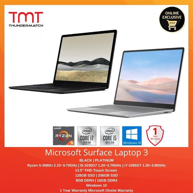 pembelian berbaloi microsoft surface laptop 3