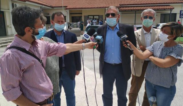 """Θεσπρωτία: ΕΟΔΥ - """"Να δώσουν δείγμα οι στενές επαφές των ασθενών στην Παραμυθιά και να μπουν σε καραντίνα"""""""