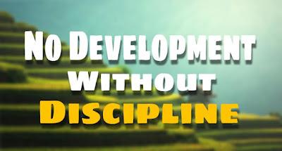 2. No Development Without Discipline ( Inspiring Stories )