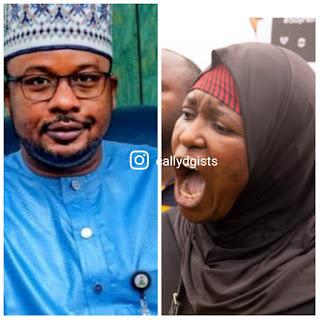 """""""Buhari Is Incompetent"""" - Aisha Yesufu Slams President Buhari For Dawisu's Arrest"""