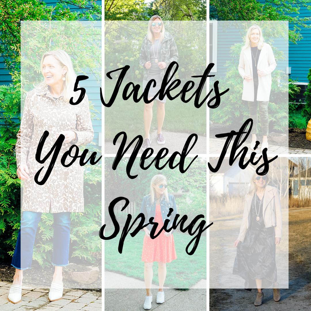 spring jacket trends 2020