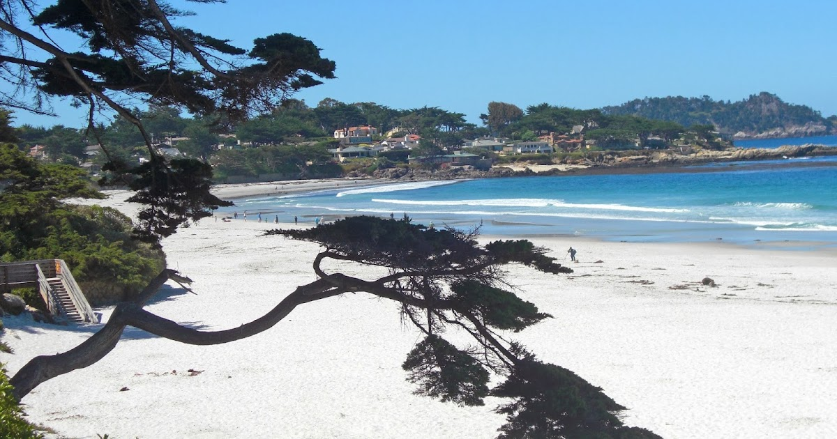 Carmel By The Sea Walk Ocean Avenue To The Beach Tour And