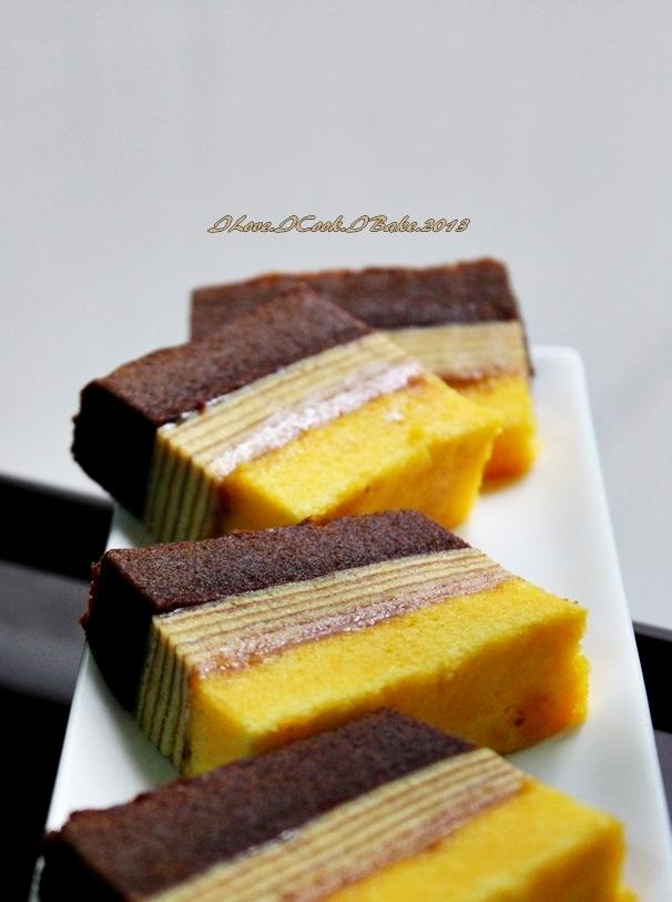 Cheese Sponge Cake Ncc