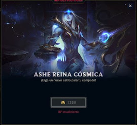 skin de ashe la reina cosmica