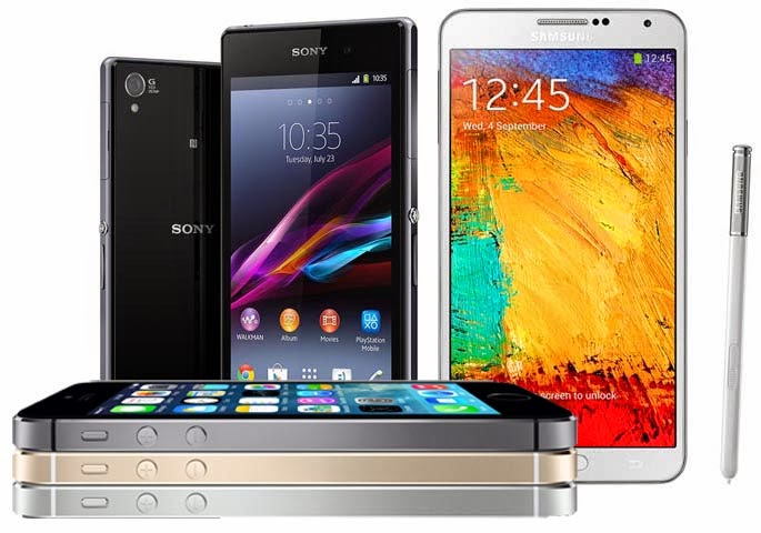 Review iPhone 5s, Samsung Galaxy Note 3, dan Sony Xperia Z1