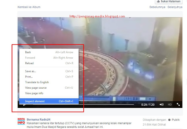 Cara Gampang Download Video di Facebook - Pengonaq Media