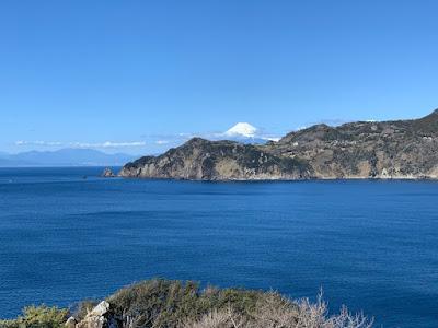 富士見の丘から見た富士山