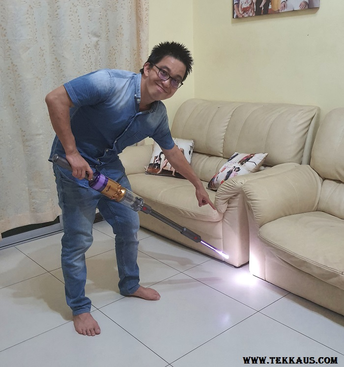 Dyson LED Light Pipe Crevice Tool