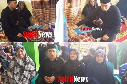 Ketua DPC PKB Maros, Berharap Keluarga Almarhuma Daeng Lenteng, Bersabar Dan Mengihklaskannya