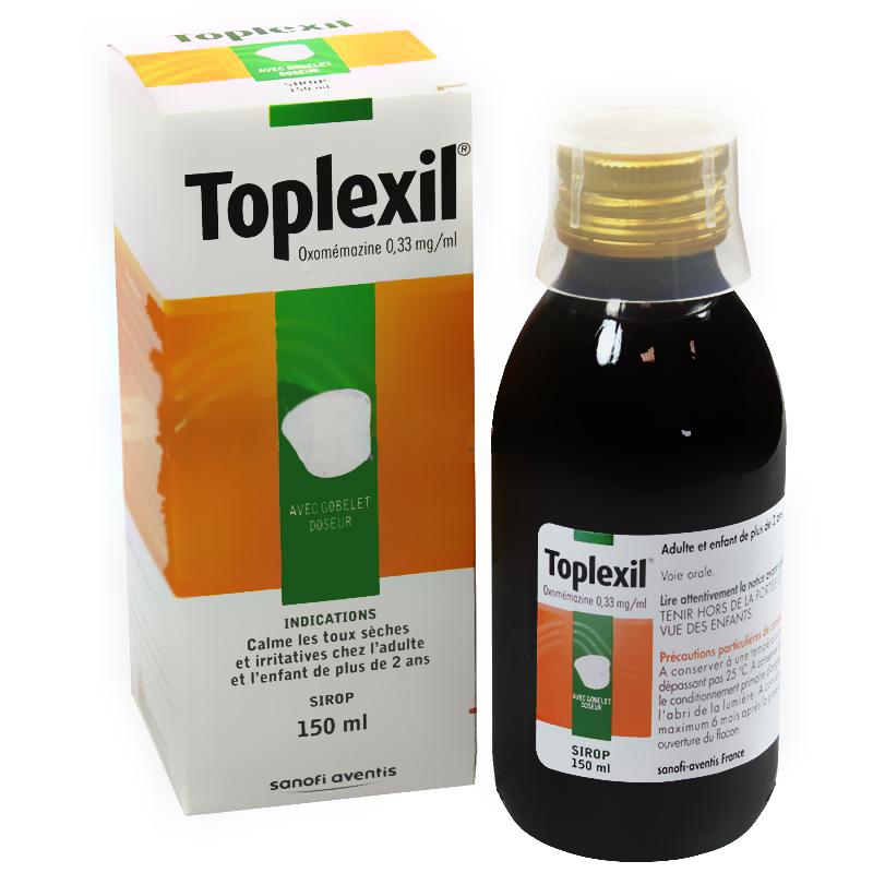 سعر ودواعي استعمال دواء توبليكسيل Toplexil للسعال