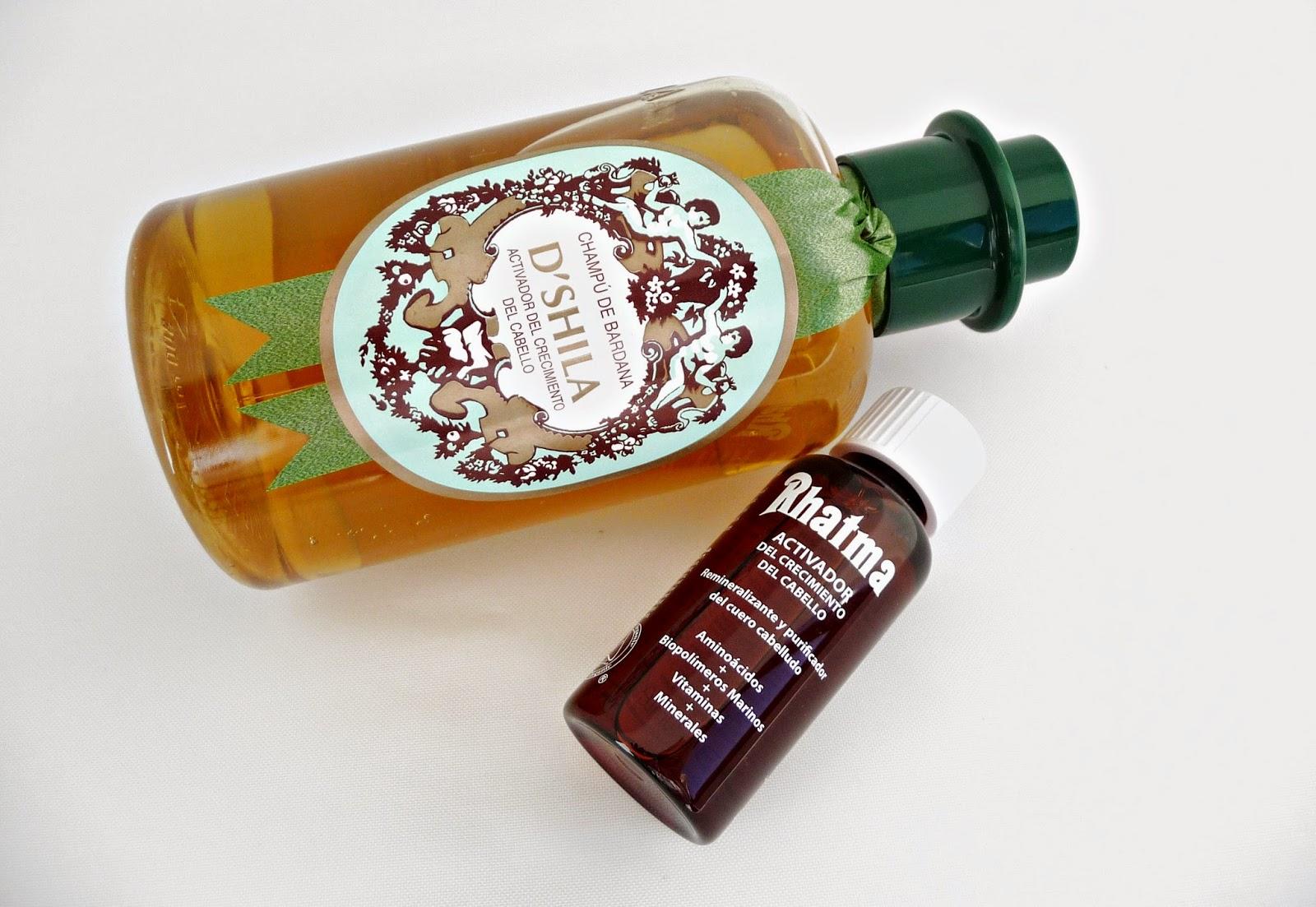 Las máscaras para los cabellos del aceite de bardana y los óleos etéricos