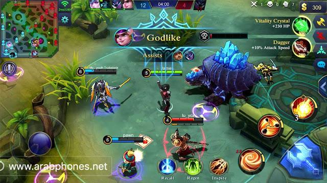 تحميل لعبة Mobile Legends مهكرة اخر اصدار 2021