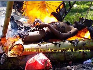 Tradisi Pemakaman Unik Indonesia