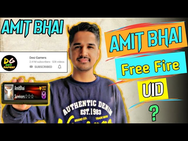 Amit Bhai Free Fire