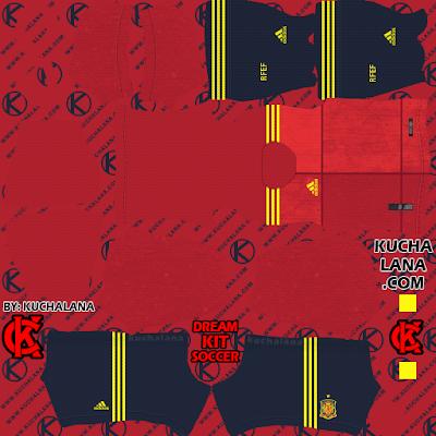 Spain Kits 2020/21 - DLS21 Kits