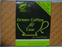 Ceaiul Green Coffee Fit ajuta in tratarea obezitatii