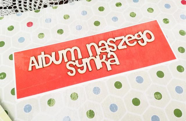 napis na okładce albumu