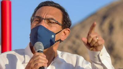 Martín Vizcarra pide a la fiscalía declarar por caso de Richard Cisneros