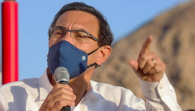 Presidente del Perú , Martín Vizcarra
