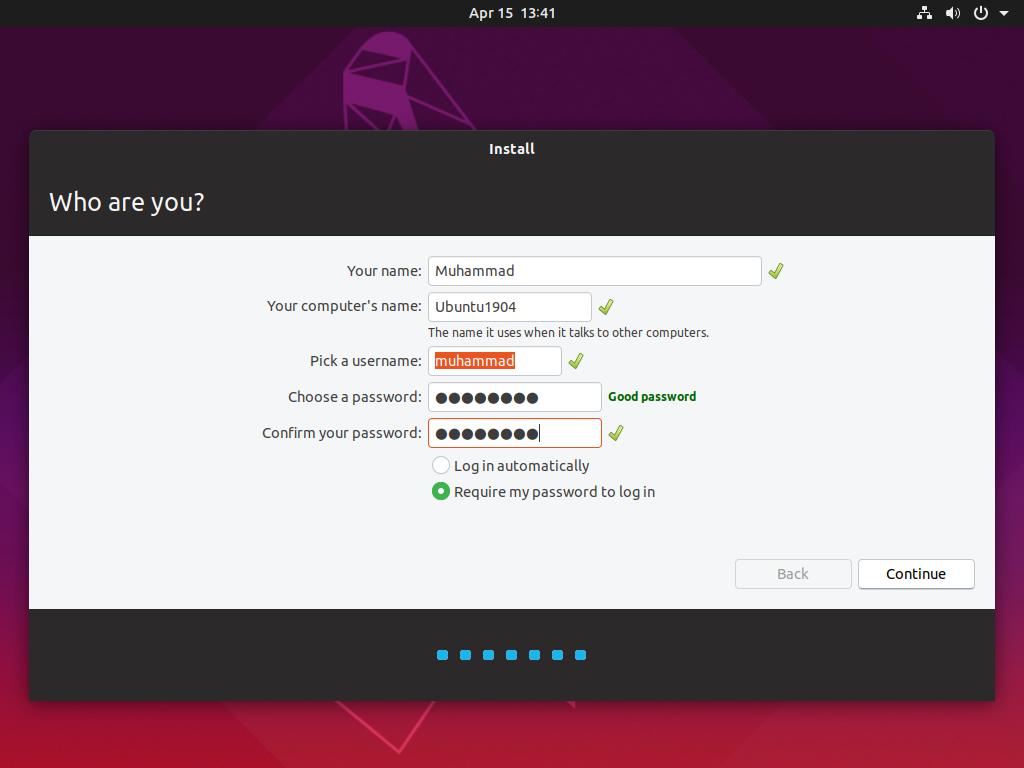 Install Ubuntu 19 04 Desktop Alongside Windows 10 - LAYING