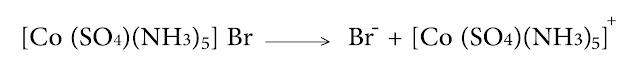 معقد بروم الخماسي نشادر كبريتاتو كوبالت III  ومعقد كبريتات الخماسي نشادر برومو كوبالت III