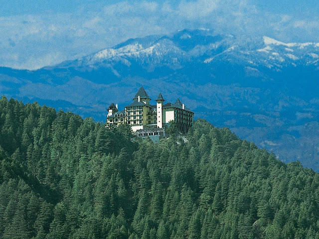 5 isolated hotels on the mountain attract tourists