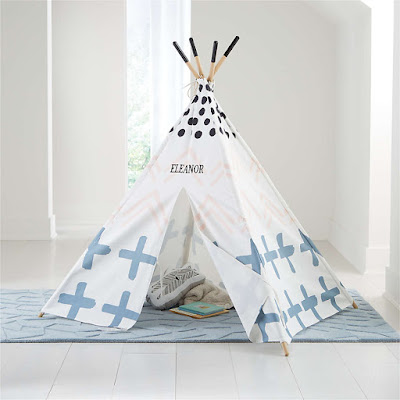 Crate and Barrel Teepee