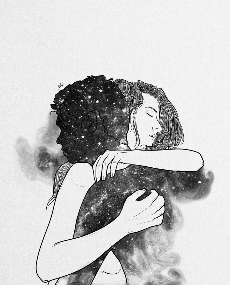 06-Love-you-Muhammed-Salah-Smoky-Surreal-Ghost-Drawings-www-designstack-co