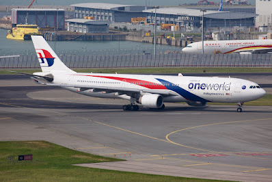 Malaysia Airlines Oneworld Livery