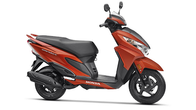 Honda Grazia side view HD Images