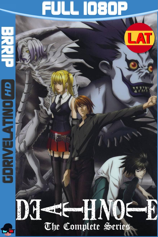 Death Note (2006-2007) Serie Completa BRRip 1080p Latino-Japonés MKV