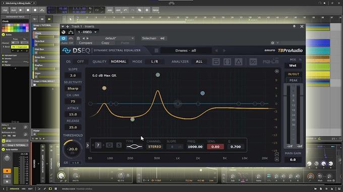 TBProAudio - DSEQ 2.2.1 VST, VST3, RTAS, AAX x86 x64
