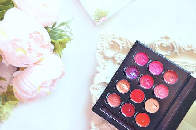 Bellapierre lip palette pro