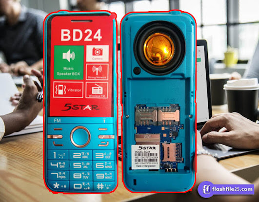 5Star BD24 Flash File 6531E 100% Tested. This is latest firmware for your bd24 mobile device.