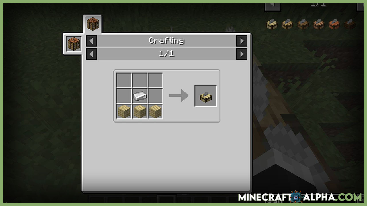 Minecraft Corail Woodcutter Mod For 1.17.1 To 1.16.5 (A Sawmill for Wooden Recipes) Crafting Table Recipes