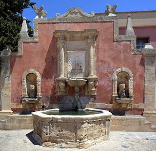 fontana della ninfa zizza castello