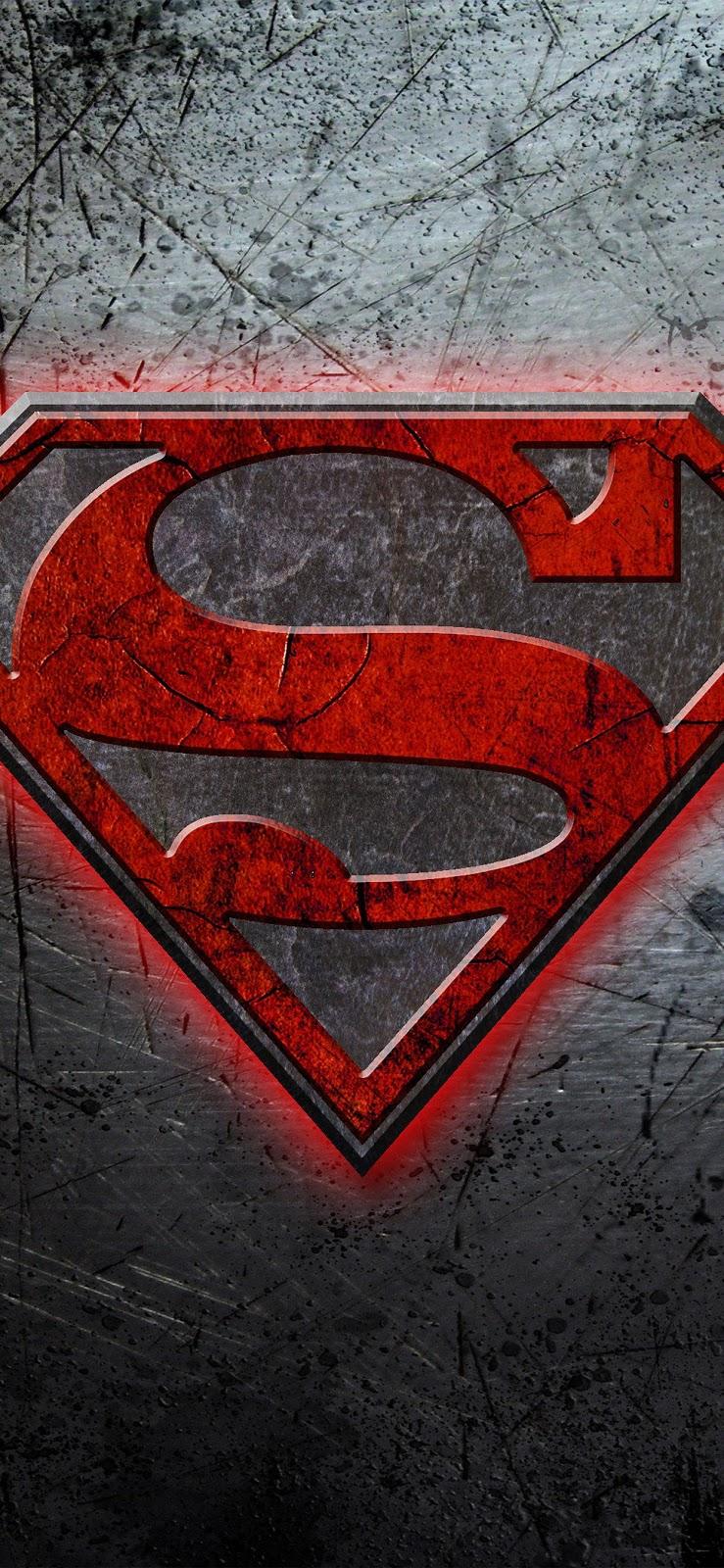 wallpaper iphone xs, comics, super man