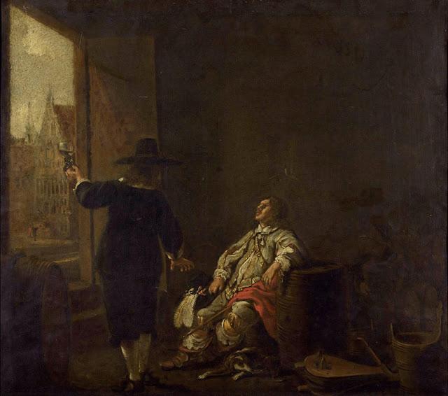 Альберт Кёйп - Сомелье. 1640-е