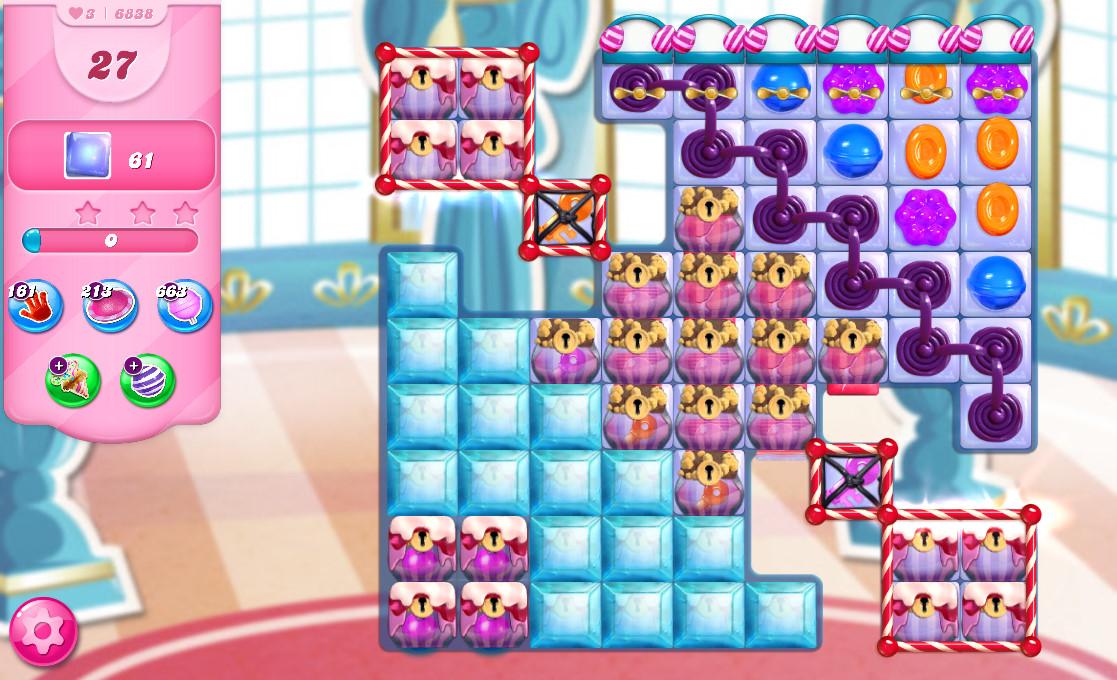 Candy Crush Saga level 6838