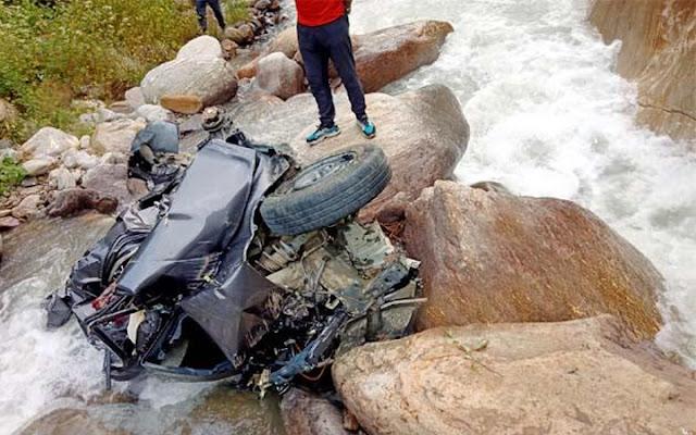 हिमाचल में भयानक हादसाः एक ही परिवार के पति-पत्नी और बेटी की मौत