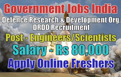 DRDO Recruitment 2019