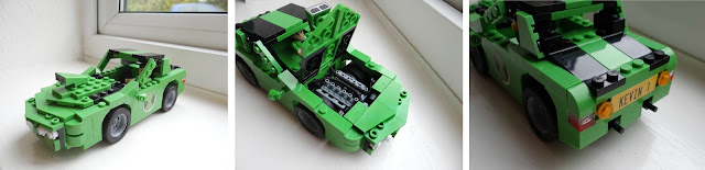 12 days of Christmas, Christmas gifts 2012, Ben 10 lego car