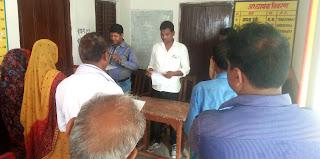 पहले दिन 24 ग्राम प्रधानों व सदस्यों ने ली शपथ | #NayaSaberaNetwork