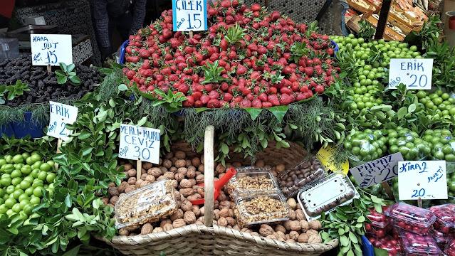verdura e frutta mercato
