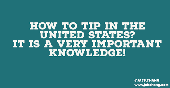 How to tip in the United States? It is a very important knowledge!