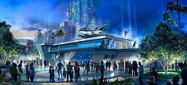 Disney marca data para inaugurar seu novo parque temático Marvel Avengers