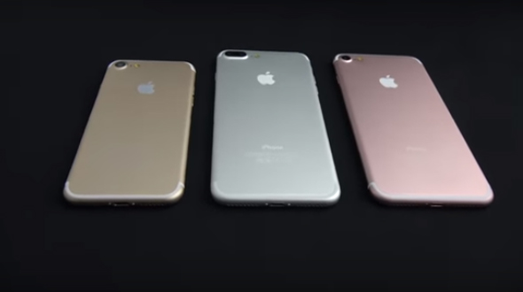 New leaked video Shows All three variants of iPhone 7