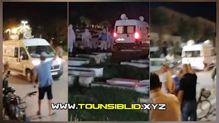 (بالفيديو و بالصور)سيناريو الإيطالي الٱن بالمنستير تشيع (6) وافيات بالكرونا من مستشفى فطومة بورقيبة بالمنستير  الى المقبرة !!