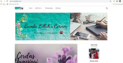 Homepage Bunda Lillah
