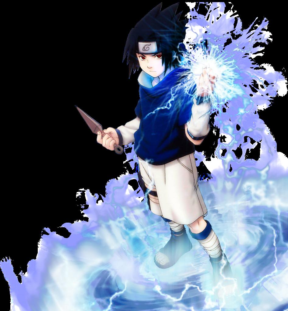Render de Sasuke Uchiha